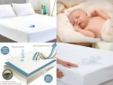 WATERPROOF TERRY TOWELING MATTRESS PROTECTOR FITTED SHEETS COT BED SINGLE KING