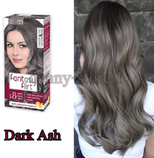 Fantasy Flirt 133 DARK ASH Hair Dye, Up to 8 Weeks Lasting Effect