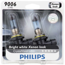Headlight Bulb-CrystalVision Ultra - Twin Blister Pack Front PHILIPS 9006CVB2