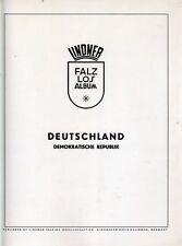 Lindner álbumes hojas DDR 1972-1974