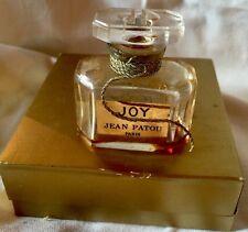 Vintage Jean Patou Joy Perfume Bottle Baccarat Paris