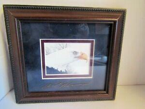 Ben Richmond Print Bald Eagle The Intruder Signed Framed