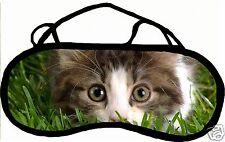 Masque de sommeil cache yeux anti lumière fatigue chat personnalisable REF 35