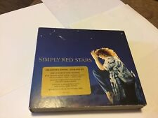 SIMPLY RED - STARS - 2 X CD + DVD DELUXE EDITION - FOR YOUR BABIES / THRILL ME +