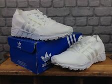 ADIDAS MENS 10 EU 44 2/3 WHITE EQT SUPPORT 93 PRIMEKNIT TRAINERS RRP £130