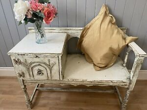 Shabby Chic Telephone Table Chair