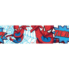 Sale Special Marvel Spider-Man Wallpaper Border Roll 5 Metres Length (Was £9)