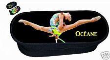 trousse à crayons REF 190 GRS Gymnastique rythmique et sportive avec prénom