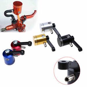 MX Brake Fluid Reservoir Oil Clutch Cup Tank CNC Universal Fit Honda Motorcycle