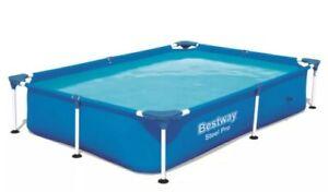 BESTWAY 56401 221x150x43cm Gartenpool Swimming-Pool FRAME-POOL ! NEU