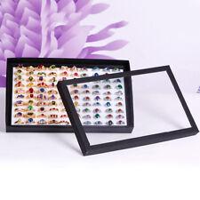 2018 Ring Earring Jewelry Display Show Case Organizer Box Tray Showcase Holder