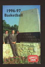 James Madison Dukes--Lefty Driesell--1996-97 Basketball Schedule--Shoney's Inn