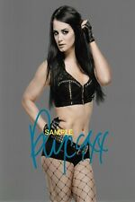4x6 OR 8x10 SIGNED AUTOGRAPH PHOTO REPRINT of PAIGE WWE W/BORDERS