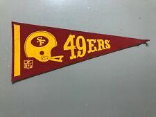 Vintage San Francisco 49ers Pennant