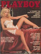 PLAYBOY AUGUST 1977-A – JULIA LYNDON – HENRY WINKLER – PATTI McGUIRE NUDE !!!