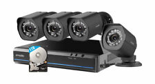 Zmodo 4-Channel NVR Security System with 4x 720p HD IP Camera, No HDD zm-kw0001
