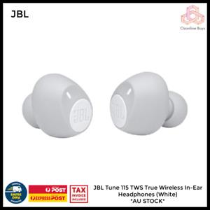 JBL Tune 115 TWS True Wireless In-Ear Headphones (White) *AU STOCK*