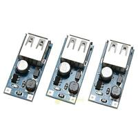 3pcs PFM Control DC-DC USB 0.9V-5V to 5V DC Boost Step-up Power Supply Module