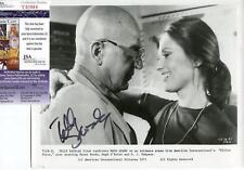 TELLY SAVALAS ACTOR IN TWILIGHT ZONE SIGNED PHOTO AUTOGRAPH JSA AUTHENTICATED