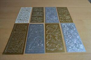 8 Assorted Peel Off Stickers