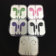 Lot Of 5 headphones Work With  any phone - Different Colors