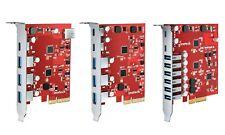PCIe zu USB 3.2 Gen 2 Karte mit 20 Gbps Bandbreite, USB Typ-A Typ-C Anschlüsse