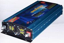 6000W Peak 3000W Sine Wave Power Inverter 12V DC/230V AC Power Tools Converter
