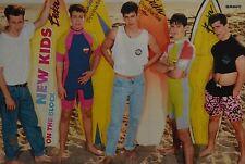 NEW KIDS ON THE BLOCK - A3 Poster (ca. 42 x 28 cm) - Clippings Fan Sammlung NEU