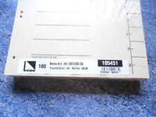Bene Trennblätter 97300 GE A4 Gelb 6-fach Cipango-Karton 100 Stück gelb