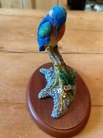 VINTAGE COLLECTIBLE BORDER FINE ARTS BY  RUSSELL WILLIS A0653 KINGFISHER