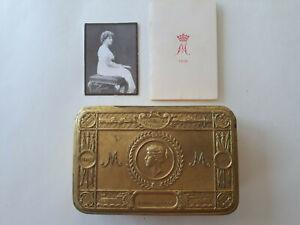 Princess Mary 1914 Christmas Tin - With Original Contents - Tobacco