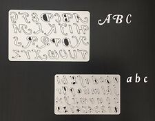 Crafts Metal Alphabet Letters & Numbers Die Cutter