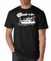 BOATS N HOES funny boating Step Brothers Prestige Worldwide T-shirt