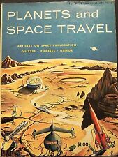 Planets & Space Travel Doubleday Activity 1958 puzzles exploration ages 10-14