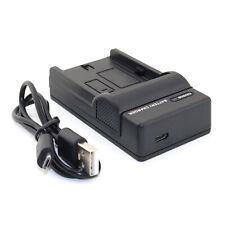 USB Battery Charger for Sony NP-F330 NP-F550 NP-F750 NP-F960