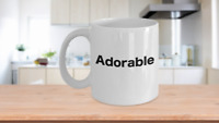 Adorable Coffee Mug Deplorable Funny Gift for Mom Sister Friend