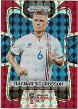 2018 Panini FIFA World Cup Red Mosaic Prizm (107) Ragnar SIGURDSSON Iceland