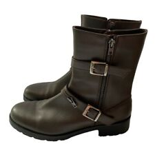 Ron White Brown Ankle Boots Size 10