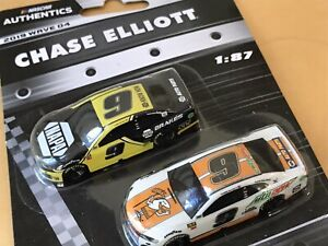 NASCAR AUTHENTICS 2019 1/87 #9 CHASE ELLIOTT 2 CAR SET 2019 WAVE 4