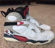 Jordan Retro 8 VIII Bugs Bunny White/Black True Red 305381-101 2003 Sz 12