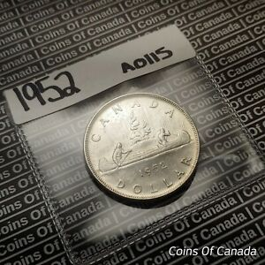 1952 Canada $1 Silver Dollar Coin - Sealed In Acid-Free Package #coinsofcanada