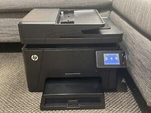 Black Hp All-In-One Reliable Laserjet Pro MFP M177fw - Toner Inc - Barely Used