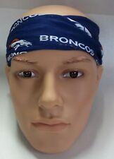 Denver Broncos Hair Tie Pony Tail Holder Fan Stretch Wrap Headband Bracelet