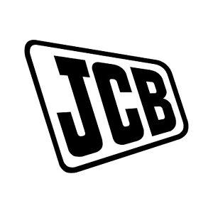 JCB Digger logo decal BUY 2 GET 1 FREE 8008 8014 8025 8030 3CX Excavator sticker