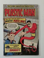 Super Comic Plastic Man #18 1963 Appearance of Spirit! Complete