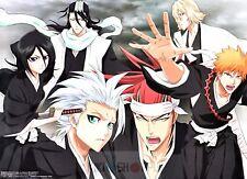 Poster A3 Bleach Manga Anime Cartel 02