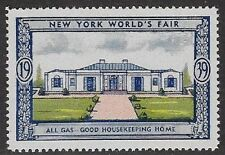 Usa Poster stamp:1939 New York World's Fair: Good Housekeeeping Home - dw433/38