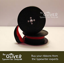 Brother Red & Black Typewriter Ribbon & Spool  (compatible)  **High Quality**