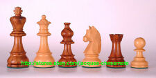 HANDMADE GERMAN KNIGHTS STAUNTON SHEESHAM WOOD CHESS SET!!!!!!!!
