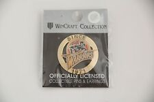 VINTAGE DEADSTOCK GOLDEN STATE WARRIORS 71 THUNDER BOLT PIN WINCRAFT STEPH CURRY
